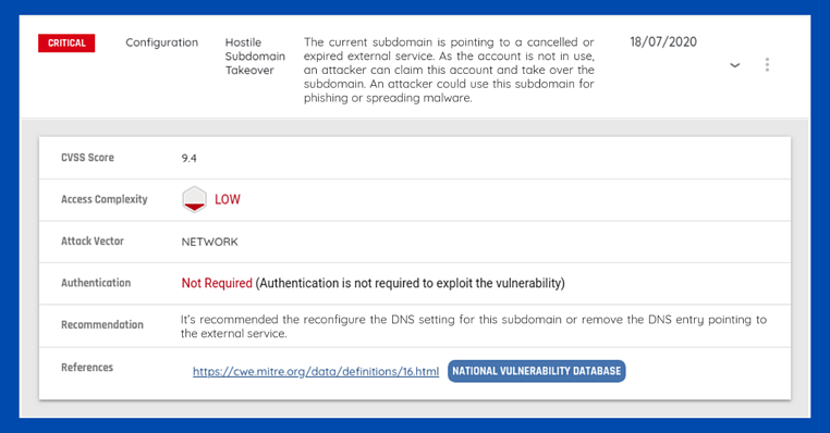 How to Avoid Hostile Subdomain Takeovers