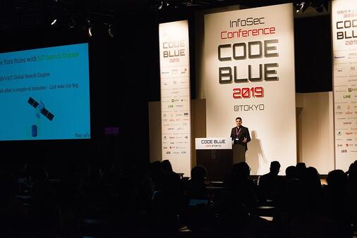 Asaf Aprozper from Reposify at Code Blue